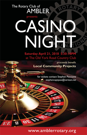 Casino Night & Spring Gala 2018 @ Old York Road Country Club | Ambler | Pennsylvania | United States